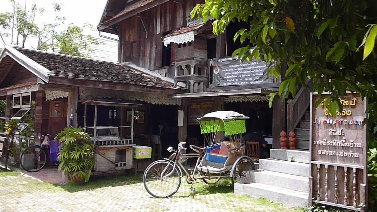 ร้านอาหารแนะนำ เฮือนใจ๋ยอง สันกำแพง เชียงใหม่ Northern Food Restaurant, Sankampang, Chiangmai