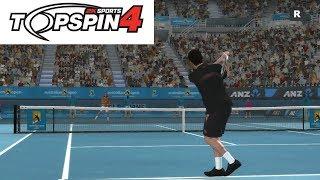 Top Spin 4 - Novak Djokovic vs Rafael Nadal - PS3 Gameplay