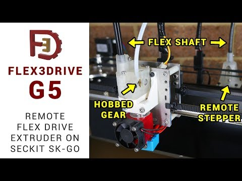 Flex3drive G5 open source remote flex drive extruder guide - Seckit SK-GO