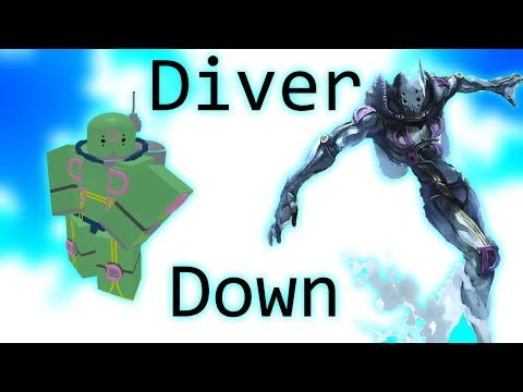 Diver Down Showcase Roblox Project Jojo Youtube