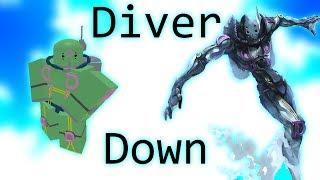 Diver Down Showcase-projeto Roblox Jojo