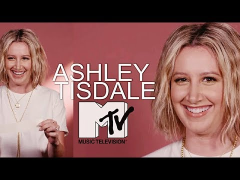 Ashley Tisdale - Q&A on MTV News for her new  Symptoms