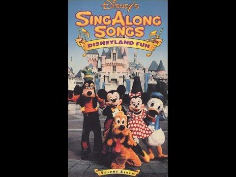 Opening To Disney's Sing-Along Songs:Disneyland Fun 1990 VHS