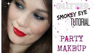 Glitter Smokey Eye - Party Makeup Thumbnail