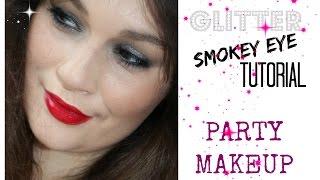 Glitter Smokey Eye - Party Makeup Thumbnail