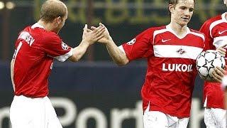 Интер (Милан, Италия) - СПАРТАК 2:1, Лига Чемпионов - 2006-2007