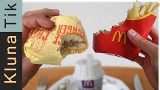 I ate EVERYTHING from the McDonald's! ASMR MUKBANG Kluna Tik| eating sounds no talk マクドナルドを食べる