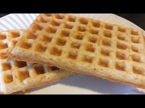 Keto Cinnamon Toast Waffles | 2.8g Net Carbs Each | Gluten Free | Almond Flour | Sugar Free