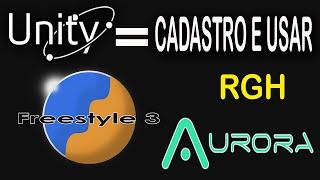 Xbox Unity- Jogando Online de Graça com RGH - Criando cadastro | Aurora e Freestyle.775