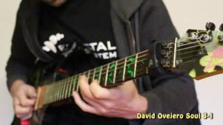 david ovejero jamming with a cbg backing track