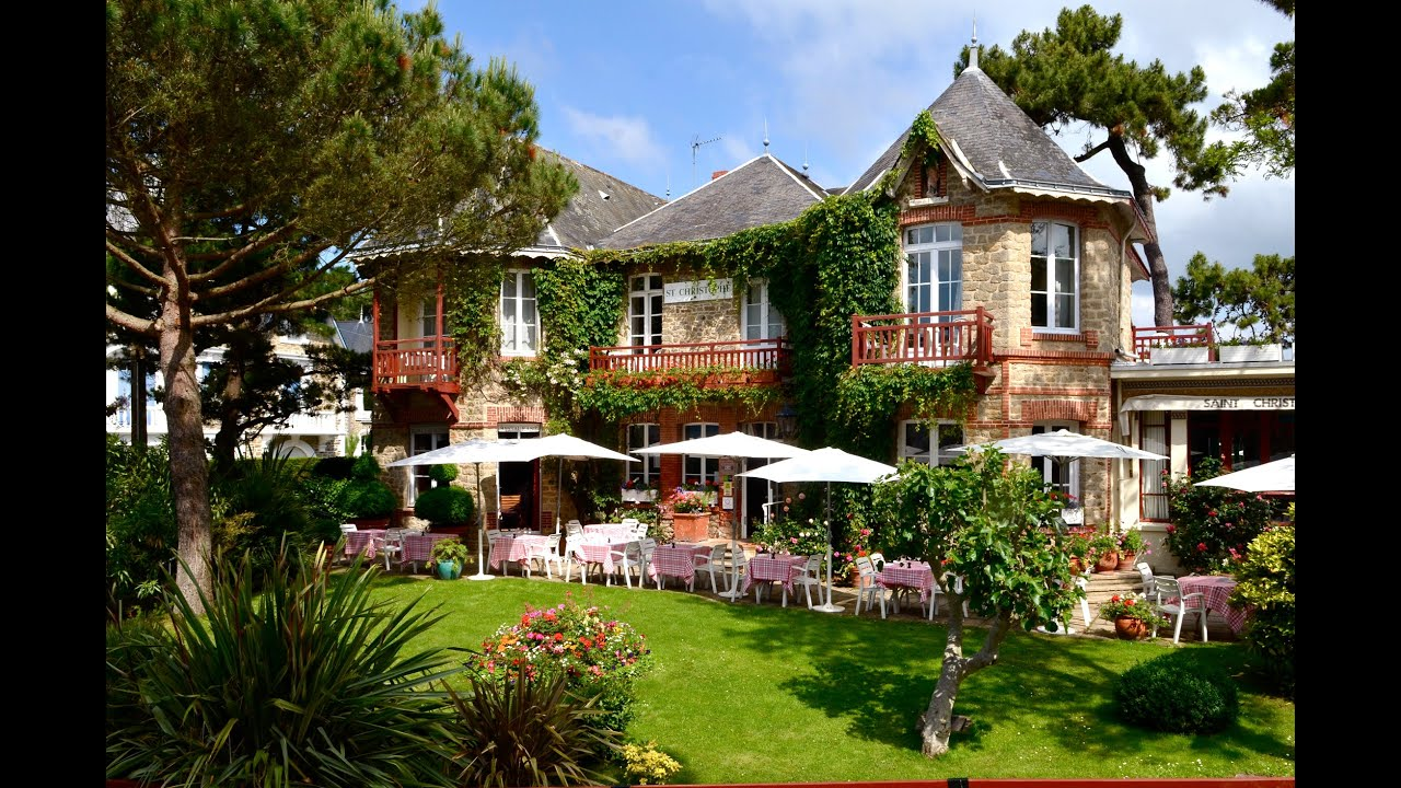 H tel le saint christophe la baule escoublac france by for Hotels la baule