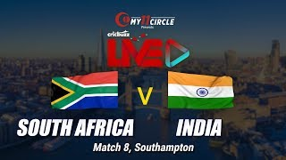 Cricbuzz LIVE: Match 8, South Africa v India, Pre-match show
