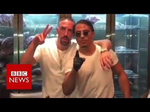 Ribery fined over Salt Bae steak rant - BBC News