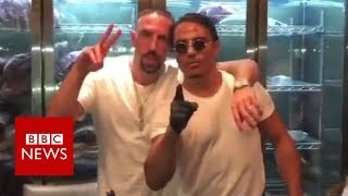 Ribery fined over Salt Bae steak rant - BBC News