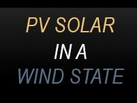 PV Solar in a Wind State-CEEE Solar Energy Fair