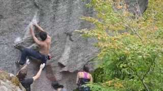 Highball Day - Squamish Bouldering 2013