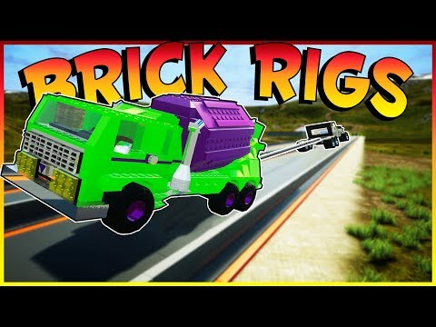 Brick Rigs Game | TUG OF WAR MULTIPLAYER CHALLENGE! | Brick Rigs Multiplayer Gameplay