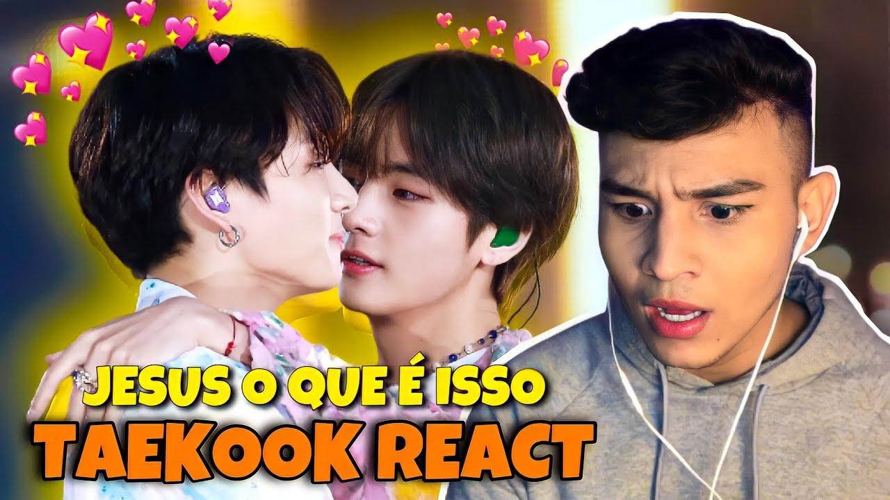REAGINDO A TAEKOOK DO BTS - ME CHOCOU | Bryan Gomes