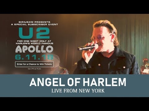 U2 plays ANGEL OF HARLEM at APOLLO THEATER 2018 (Live from NEW YORK, MULTICAM - HD)
