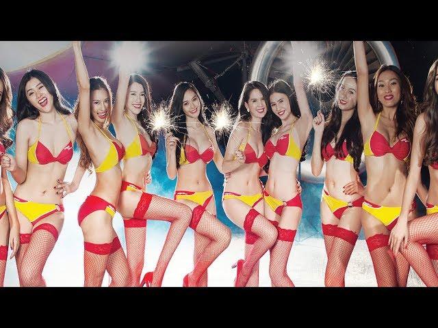 7 Maskapai Penerbangan Dengan Pramugari Paling Seksi !!! Ada Yang Pake Bikini Doank