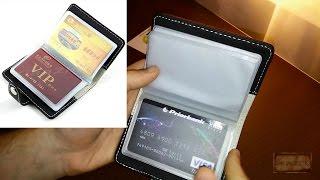 видео Визитница для дисконтных карт мужская (фото)