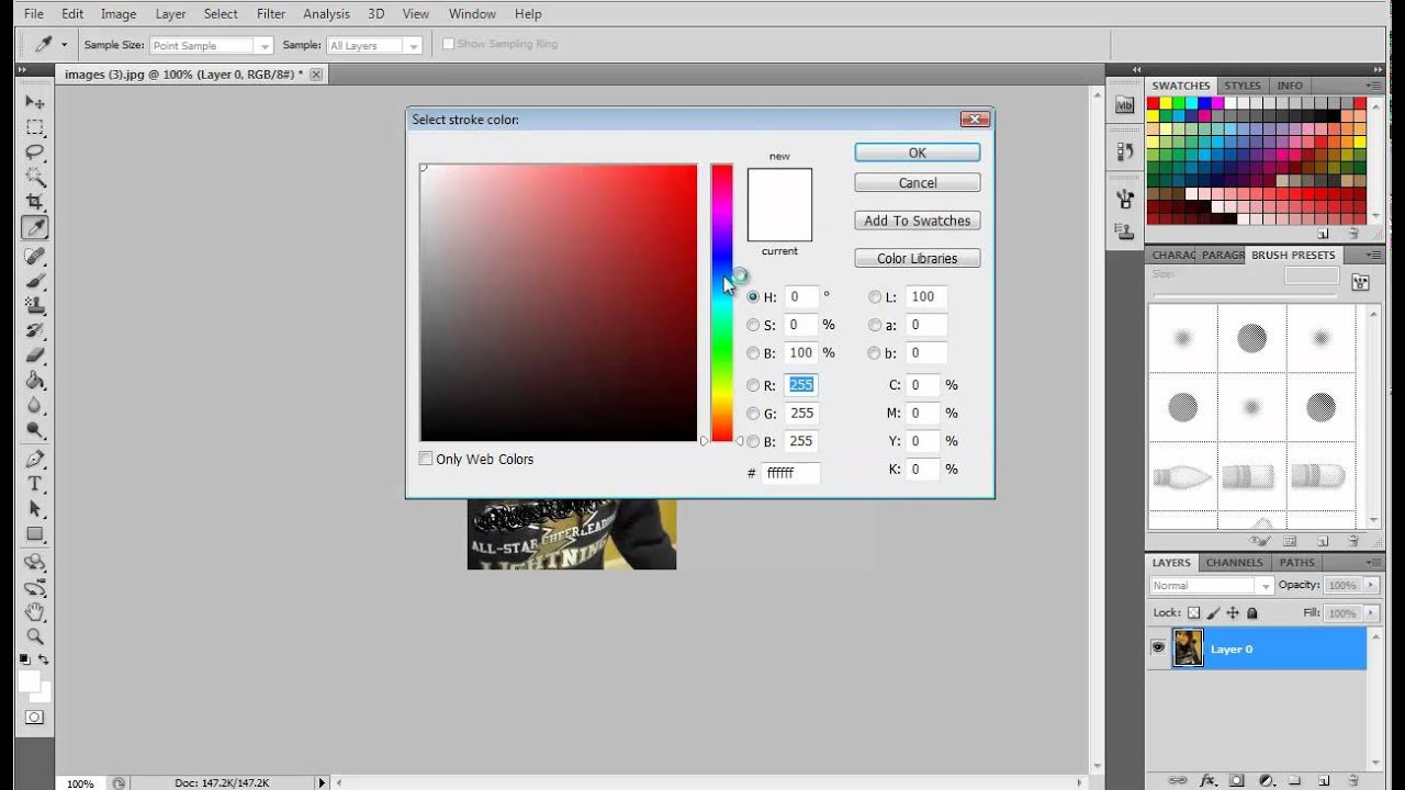 how to make pdf from jpeg in photoshop