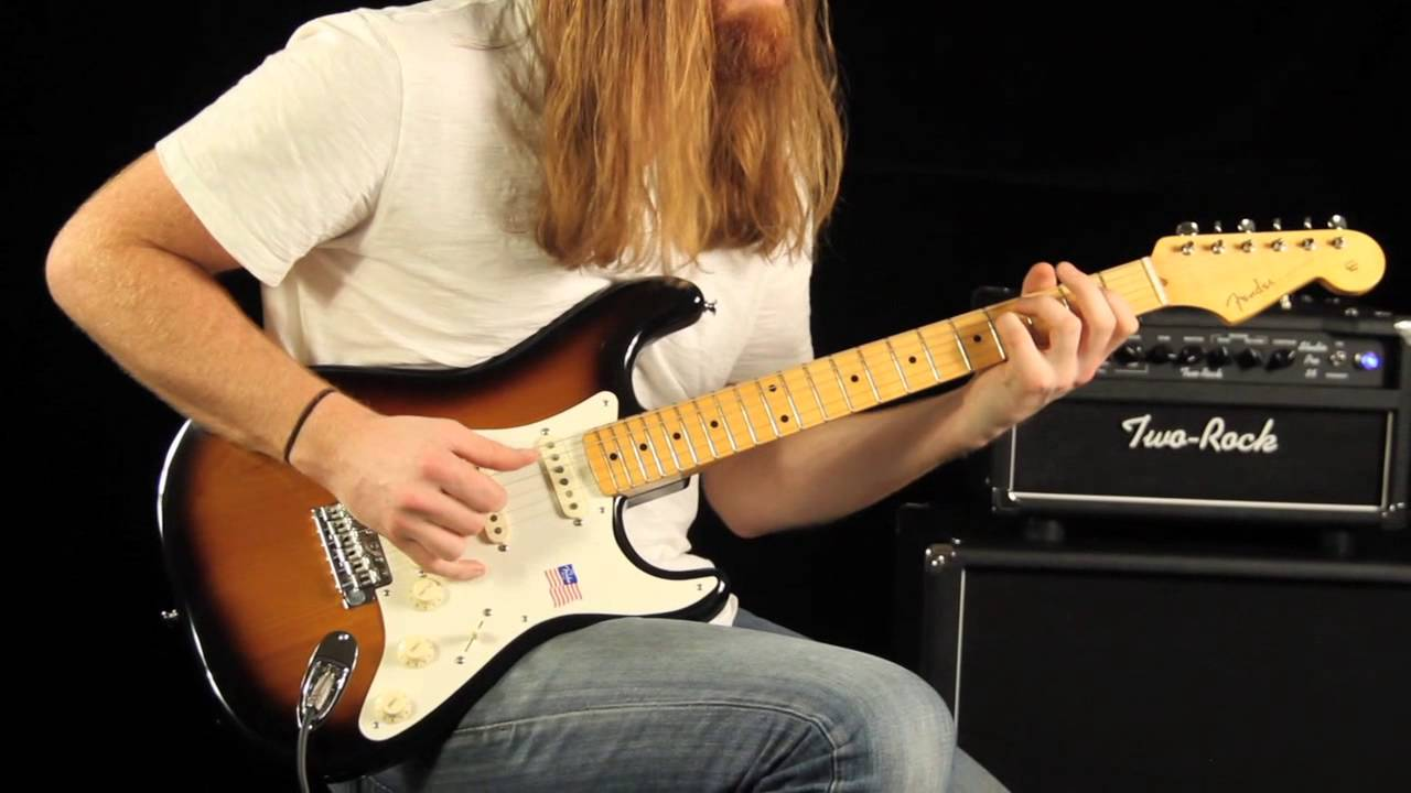 fender eric johnson signature stratocaster demo and tone review [ 1280 x 720 Pixel ]