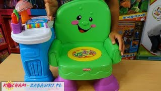 Musical Learning Chair / Krzesełko Uczydełko - Laugh & Learn - Fisher Price - Mattel - T5326