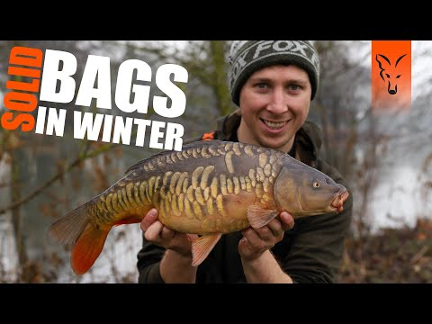 CARP FISHING WITH SOLID BAGS IN WINTER