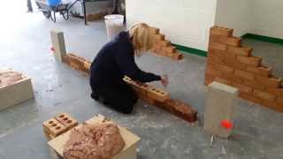 How To Build A Brick Wall, Bricklaying.