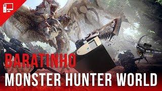 PC Baratinho e da Crise encaram Monster Hunter World!