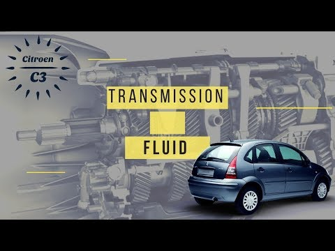 citroen c3 manual transmission oil