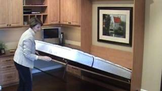 Easy to open & close Murphy Wall bed Thumbnail