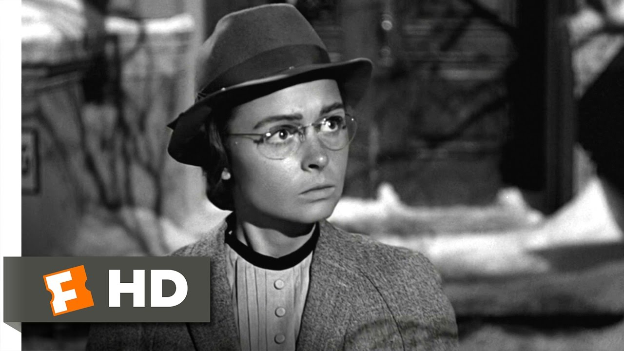 It 39 S A Wonderful Life 7 9 Movie Clip Mary The Old Maid 1946 Hd Youtube