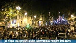La plaine : manifestation sous haute tension pour les opposants au projet de requalification