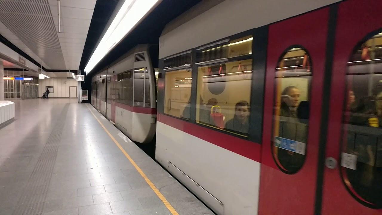 U Bahn Wien Type Ts Depart Westbahnhof March 2018 Youtube