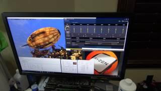 Ryzen 1700 vs 1700X System Running
