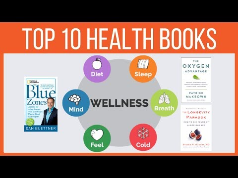 Top 10 books on Health and Wellness | Healthy Living for Longevity | Aging Well