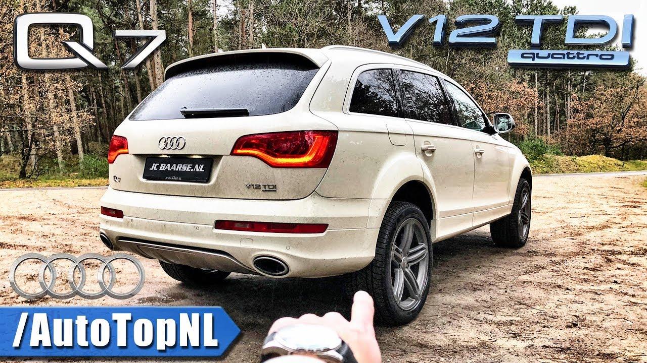 Audi Q V TDI REVIEW POV Test Drive By AutoTopNL YouTube - Audi q7 v12