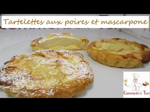 tartelettes-aux-poires-et-mascarpone---recette-de-pâtisserie-facile-par-commentfait-ton