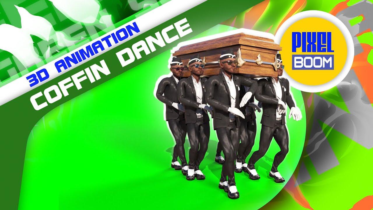 Coffin Dance Meme 3d Model Animated Pixelboom