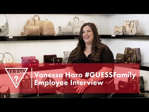 Vanessa Haro #GUESSFamily Employee Interview<br><b...