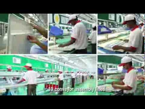 Havells Lighting Manufacturing Plant Video 2013