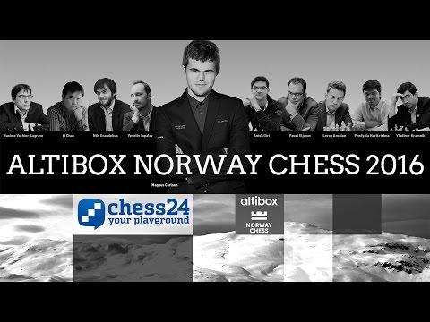 Round 9 - Altibox Norway Chess