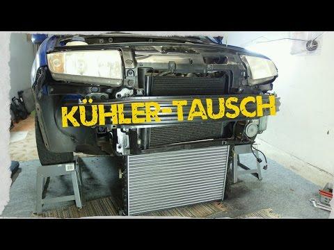 Kühler Tauschen VW, Audi, Seat, Skoda Fabia 1,4 16V Ohne Schlossträger-Ausbau