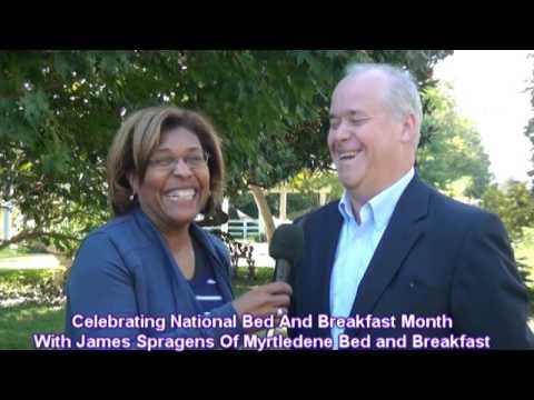 Celebrating National Bed and Breakfast Month at Myrtledene in Lebanon