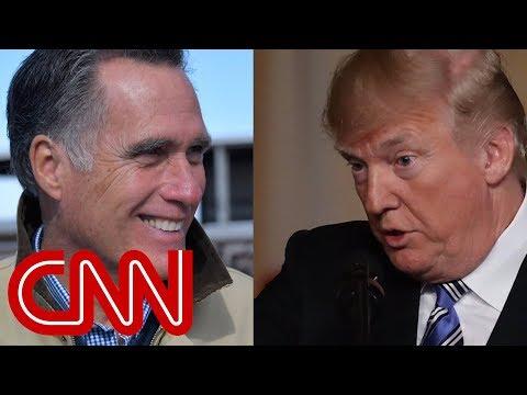 CNN: Mitt Romney is not ready to back Trump's 2020 bid