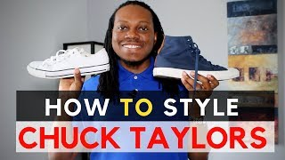 How to Style Chuck Taylors | How to Wear Chuck Taylors