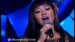 karya karya guruh sukarno putra di konser musik indonesia trans tv