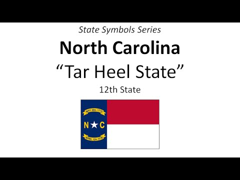 State Symbols Series North Carolina Youtube